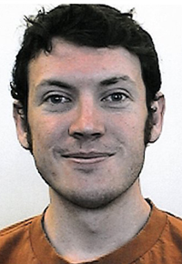 This photo provided by the University of Colorado shows James Holmes.