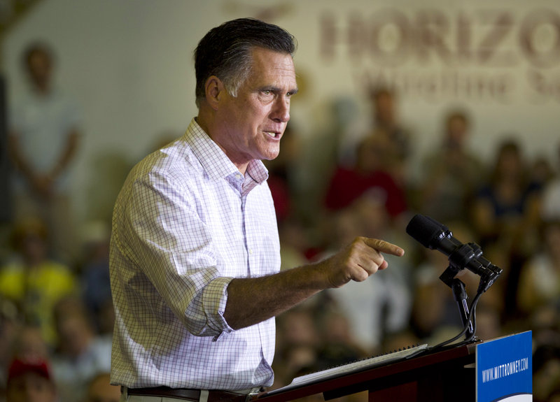 Mitt Romney, Republican presidential candidate