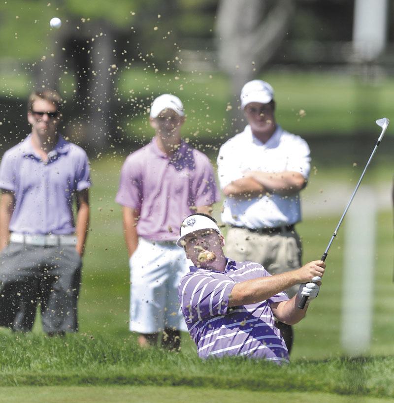 ANOTHER RUN AT TITLE: Ryan Gay of Pittston will take a run at his fourth Maine Amateur title when the tournament starts Tuesday at Sunday River.