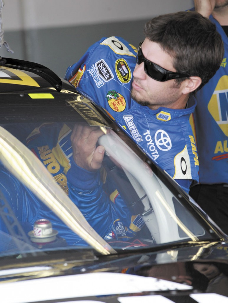 BROTHERLY LOVE: Martin Truex Jr. will start from the fourth position in today's NASCAR Sprint Cup race at New Hampshire Motor Speedway today. His younger brother Ryan finished 10th in the Nationwide race Saturday.