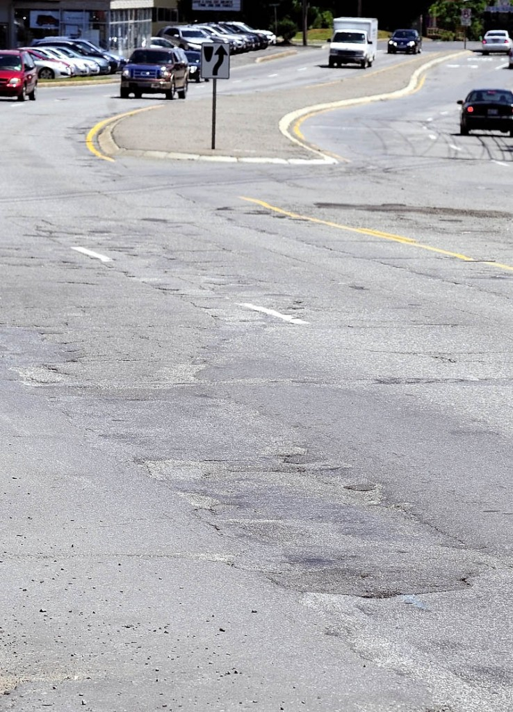 A rough heavily traveled section of Western Avenue, between Prescott Road and Edison Drive in Augusta may get repaved next summer. State Department of Transportation officials plan a public meeting to discuss proposed improvements on Monday.
