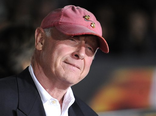 """Director Tony Scott arrives at the premiere of """"Unstoppable"""" in Los Angeles in this Oct. 26, 2010, photo."""