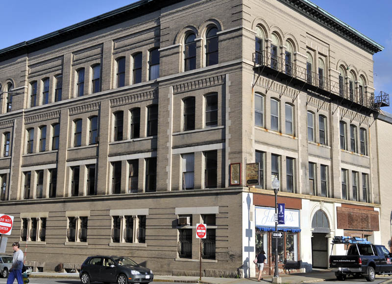 The Hains Building at the corner of Appleton and Main Streets in Waterville has been named to the 2012 Maine's Most Endangered Historic Resources List.