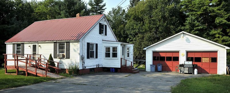 The Huard residence on Route 139 in Fairfield.
