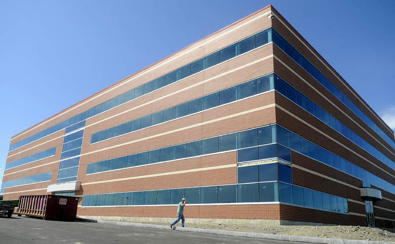The building that will house the Maine Revenue Service and Office of Information Technology in Augusta should be completed this fall.