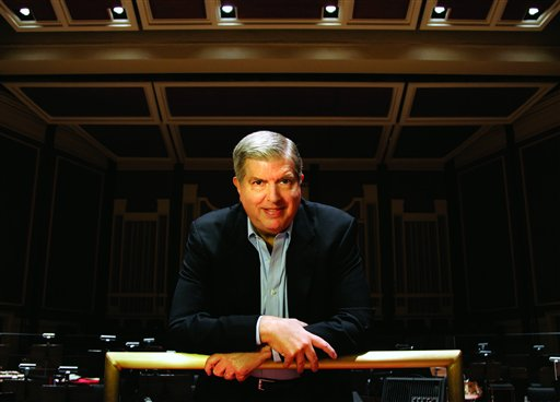 An undated photo award-winning composer and conductor Marvin Hamlisch.
