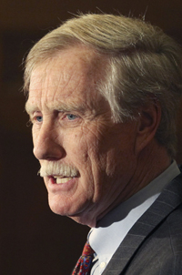 Former Gov. Angus King