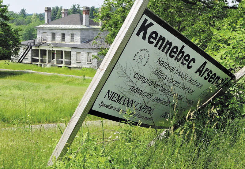 The owner of the Kennebec Arsenal says he is in discussions with other developers to do something about the neglected site. City officials say they've heard nothing about it.