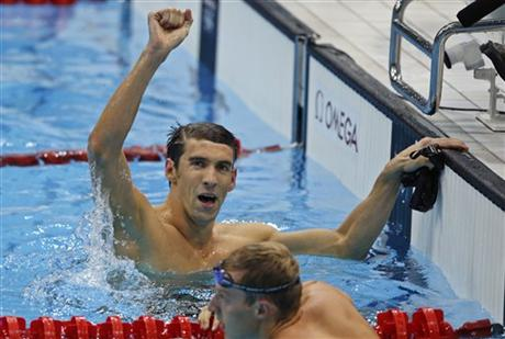 Michael Phelps claimed his third gold of the London Games and 17th of his career, adding to an already absurd record total that could be twice as much as anyone else by the time he swims the final race of his career, the 4x100 medley relay Saturday night.