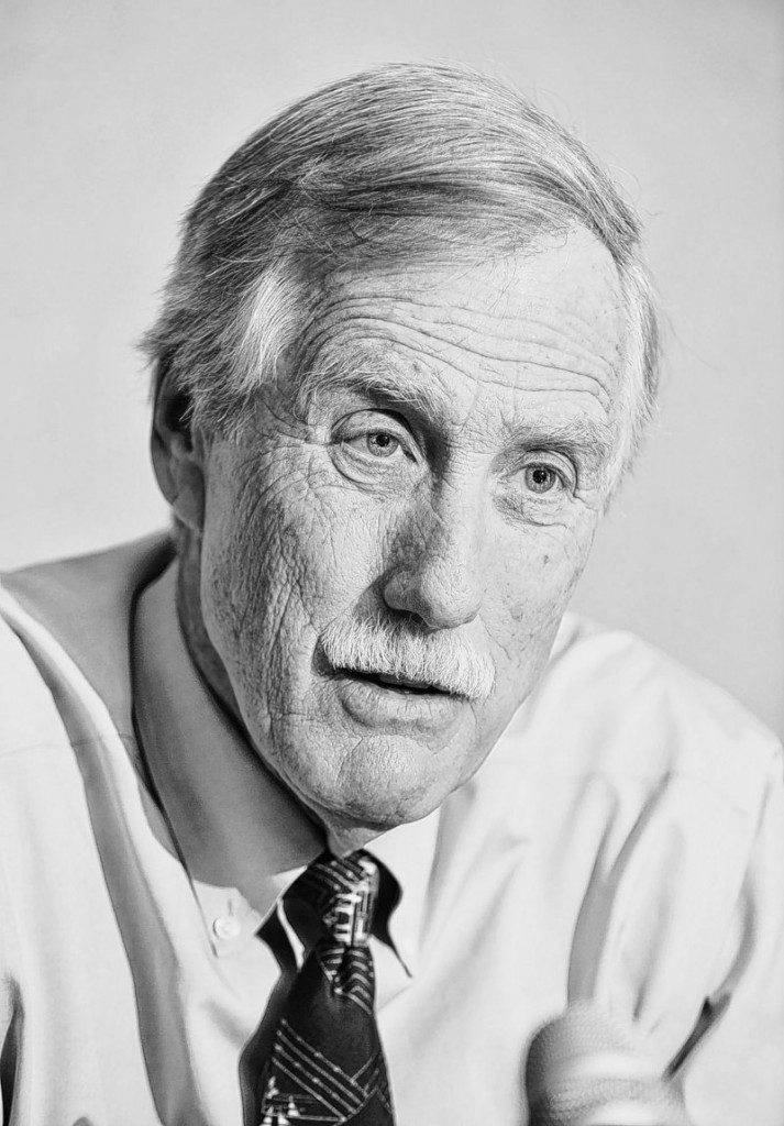 The campaign of Maine Independent U.S. Senate candidate Angus King, above, says rival Charlie Summers is dredging up irrelevant issues on attack ads.
