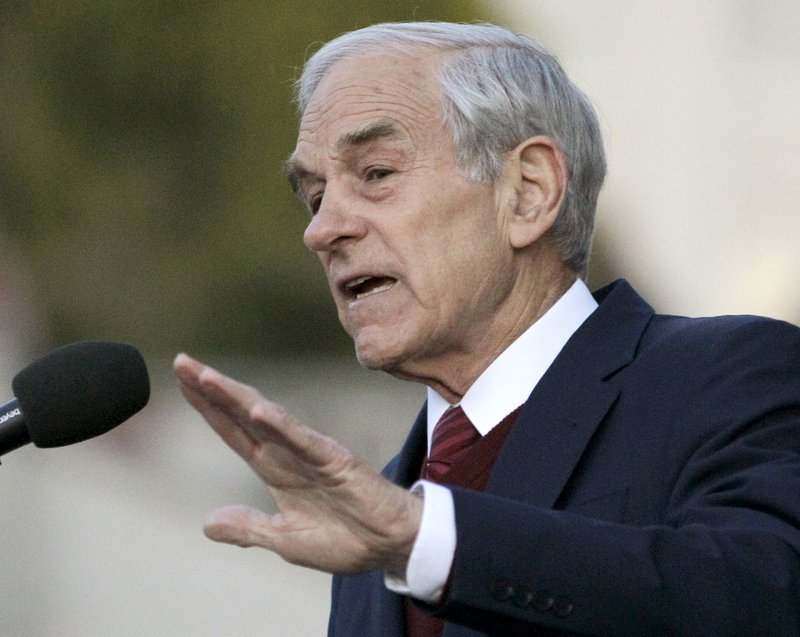 Ron Paul, R-Texas. Paul's Maine supporters say he should play a role at the national GOP convention later this month.