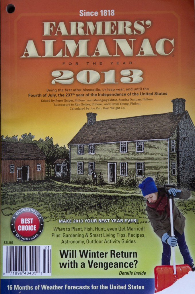 In this year's edition, the almanac's editors are contrite about failing to forecast record warmth last winter, but they suggested readers should go easy on the publication because nobody forecast 80-degree weather in March that brought the ski season to a rapid end in northern New England.