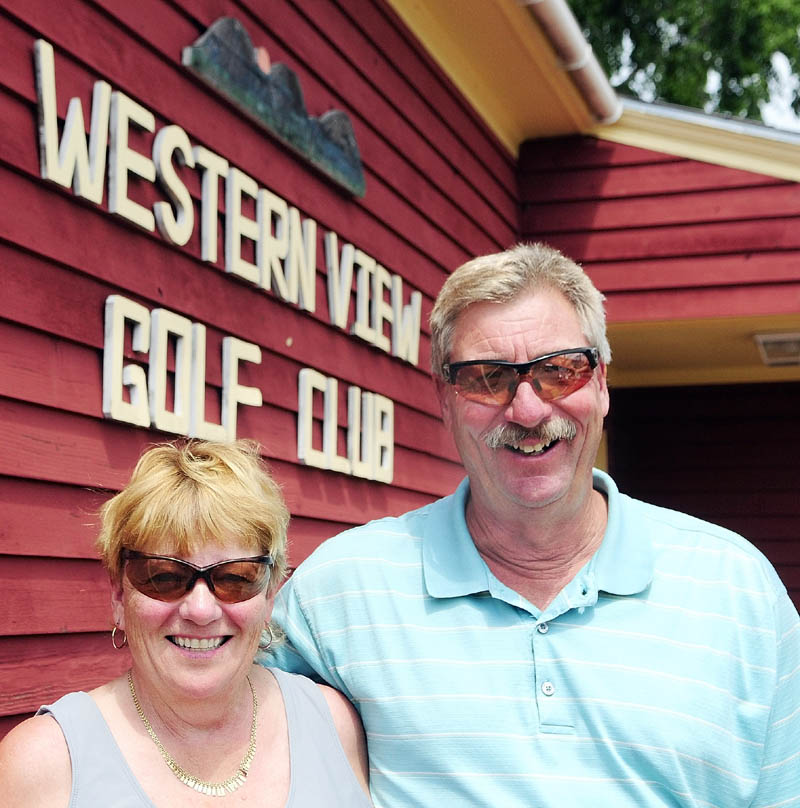 OWNERS: Brenda and Pete Matthews own Western View Golf Club in Augusta.