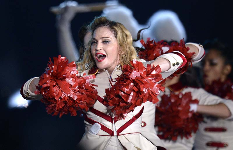 Madonna is being sued by Russian activists for supporting gays at her concert in August.