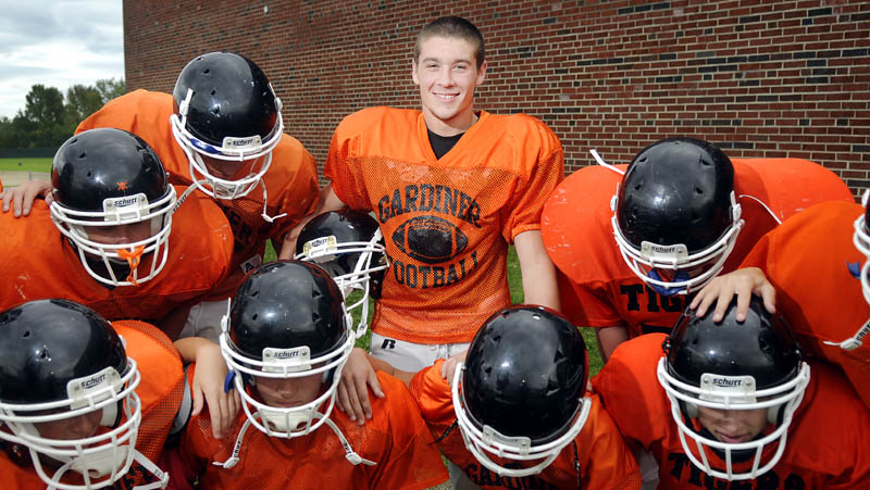 TIGER HUDDLE: Gardiner Area High School tailback Steve Sirois has done well filling the role played for the last three seasons by Alonzo Connor. Sirois has rushed for nearly 300 yards to help Gardiner start 3-0.