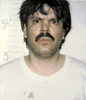 Mark Bechard, 37 at the time, is shown in a photo supplied by the Kennebec County Sheriff's Department after he was arrested Saturday, Jan. 27, 1996, at a Waterville convent where two nuns were killed.