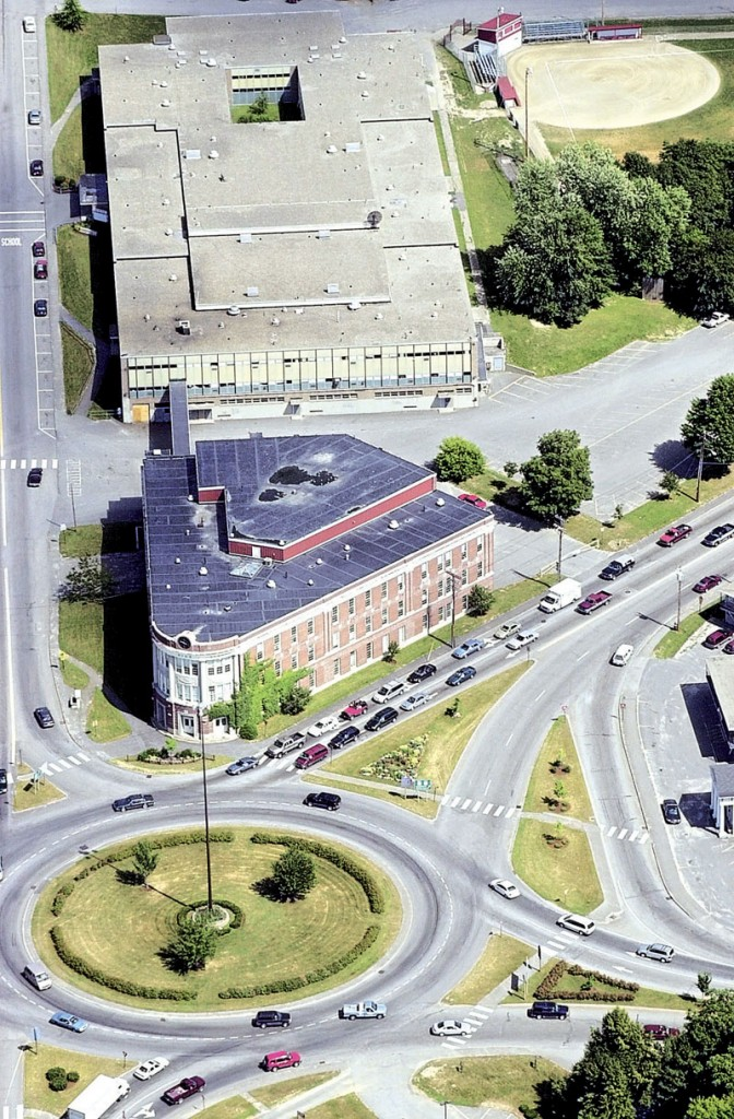 View from above: Cony Flatiron Building in 2002.