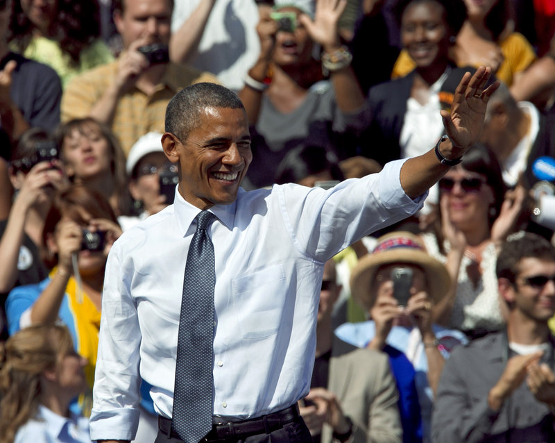 President Obama kicks off a busy campaign week by returning to the key state of Ohio on Monday with appearances scheduled in Cincinnati and Columbus.