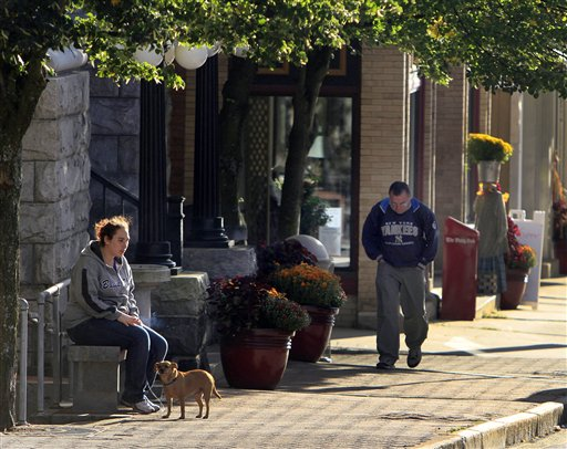 Berlin, N.H. Berlin is an economically hard-hit town after losing its paper mill. Polls until recently had shown Romney giving strong chase to Obama in a state Obama carried by nearly 10 percentage points over Republican John McCain four years ago.