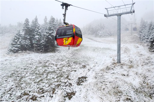 The Killington Ski Area plans to power its K-1 Express Gondola with electricity generated through Green Mountain Power's Cow Power program.
