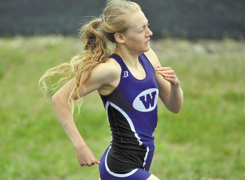Waterville Senior High School's Bethanie Brown will be the favorite in Saturday's Kennebec Valley Athletic Conference Class B championship.