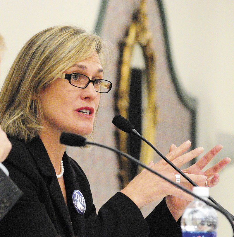 Democratic U.S. Senate candidate Cynthia Dill has spent much of her life challenging bullies and others in power for what she sees as the rights of the common person.