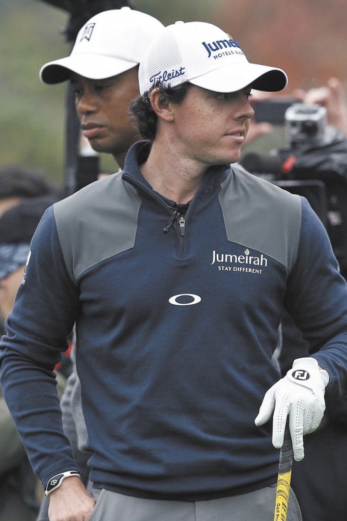 TIME FOR CHANGE: Rory McIlroy, who has staked his claim to title of best golfer in the world as a 23-year-old, is about to undergo a big change. McIlroy will no longer have a relationship with Titleist at the end of the season and will need to use new equipment.