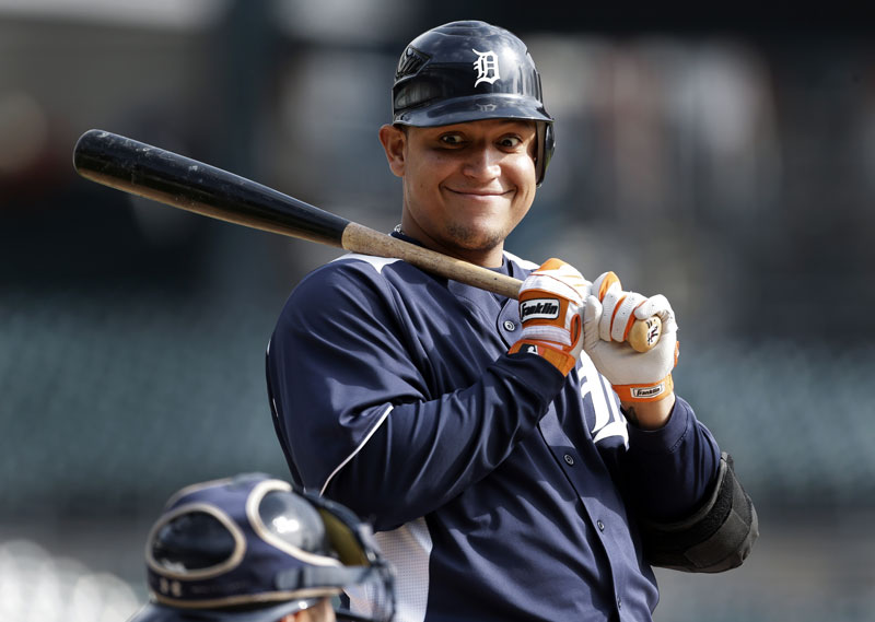 THE EYES HAVE IT: Acquiring slugger Miguel Cabrera after the 2006 season was one of the many moves the Tigers made to improve from a team that lost 119 games in 2003, to a title contender.