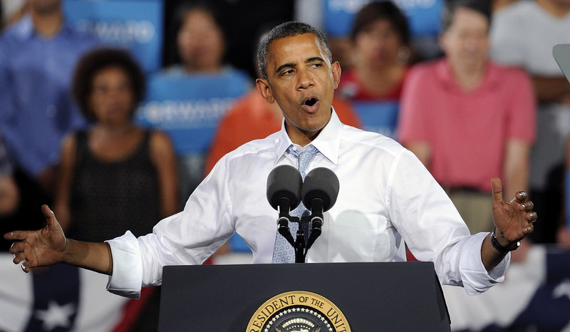 President Obama will be in Manchester, N.H., on Thursday. The latest WMUR Granite State poll shows a tight race in New Hampshire, with Obama holding a slight lead over Republican Mitt Romney.