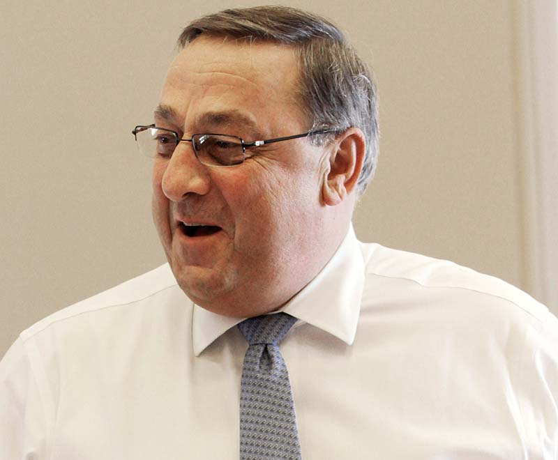 Gov. Paul LePage is making selective appearances on behalf of Republican candidates, turning down more invitations for appearances than he's accepting.