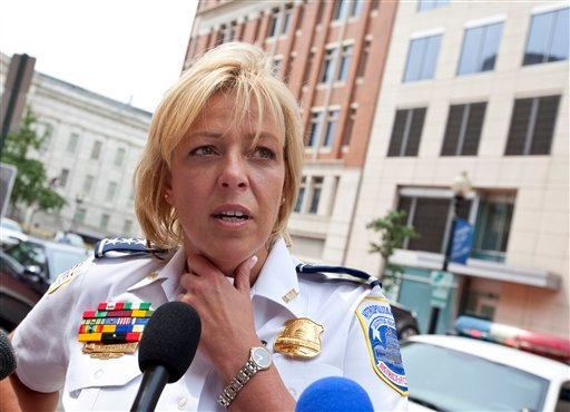 "Police Chief Cathy Lanier: ""It strikes me quite often how different things are now."""
