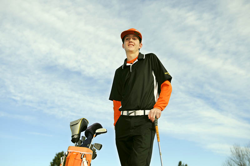 Maranacook's Luke Ruffing is the Kennebec Journal golfer of the year.