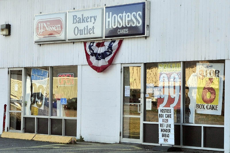 The JJ Nissen Hostess Bakery Outlet is located on Leighton Road in Augusta.