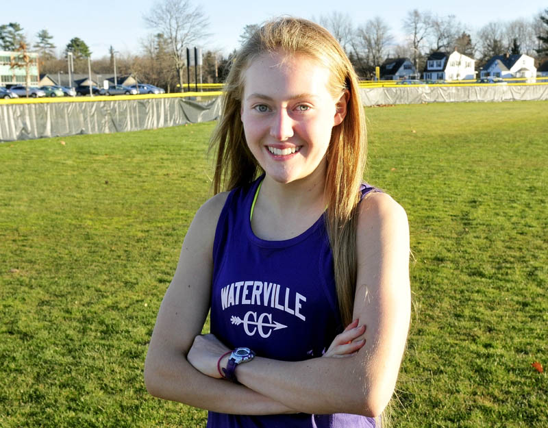 Staff photo by David Leaming Waterville's Bethanie Brown is Morning Sentinel Girls Cross-Country Runner of the Year.