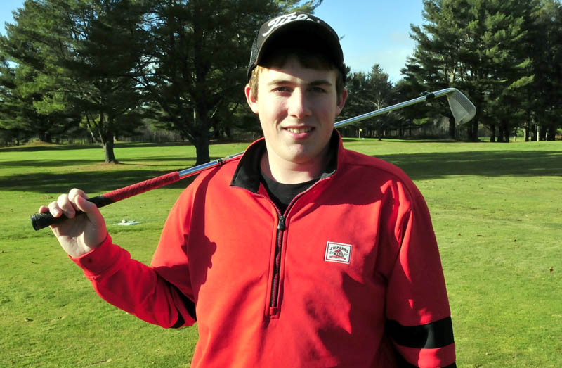 Gavin Dugas is the Morning Sentinel Golfer of the Year.