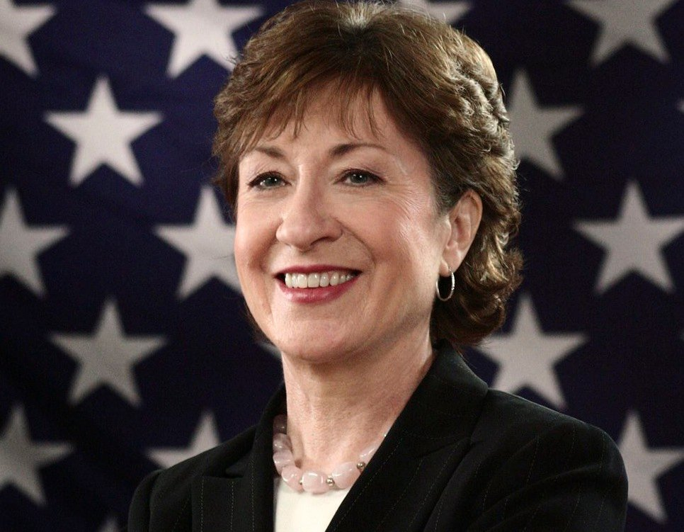 """I think John Kerry would be an excellent appointment and would be easily confirmed by his colleagues,"" Sen. Susan Collins said in response to a question about Kerry serving as secretary of state."