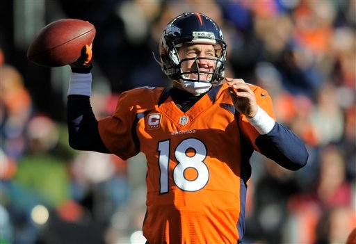 Peyton Manning missed all of last season and his career was in doubt, but he returned, with a new team, and has had an MVP-caliber season in Denver.