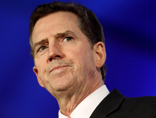 """Sen. Jim DeMint: """"I'm leaving the Senate now, but I'm not leaving the fight. I've decided to join The Heritage Foundation at a time when the conservative movement needs strong leadership in the battle of ideas,"""""""