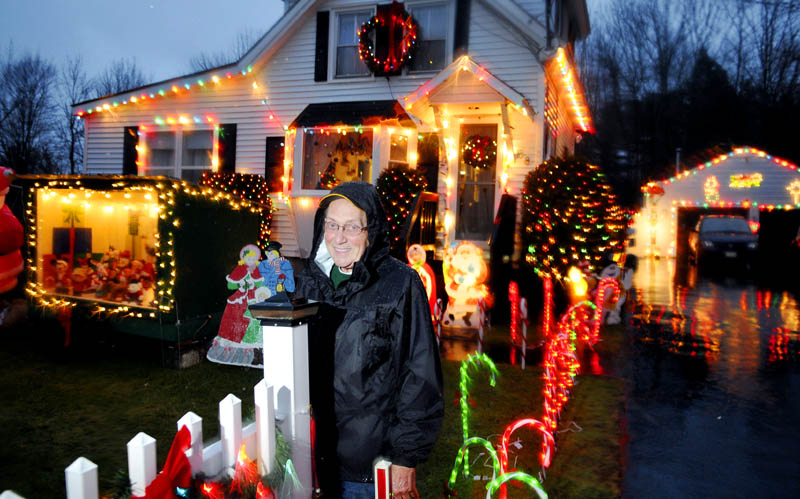 Grant and Nancy Pare are retiring the Christmas lights and decorations they have displayed for several decades outside their Gardiner home.