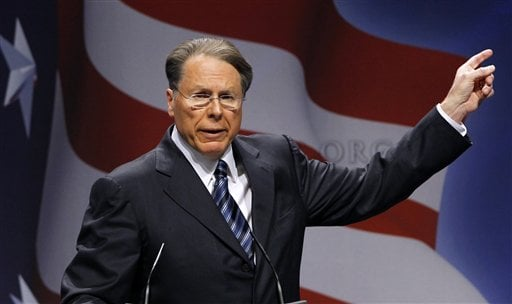 National Rifle Association Executive Vice President and CEO Wayne LaPierre speaks in Washington in this Feb. 10, 2011, photo. Seldom has the NRA gone so long after a fatal shooting without a public presence, but after four days of self-imposed silence on the shooting that killed 26 people inside a Newtown, Conn., elementary school, the nation's largest gun rights lobby emerged Tuesday and promised