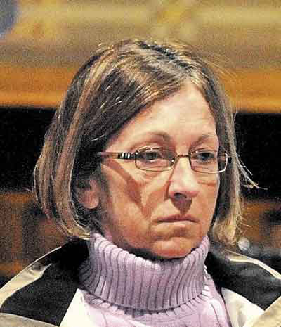 Carole Swan, a former Chelsea selectwoman, was indicted on several federal criminal charges in February. She is accused of receiving kickbacks on state road contracts.