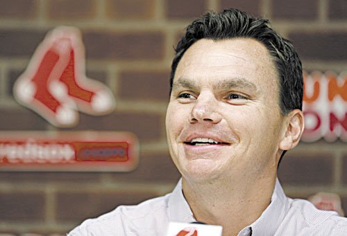 MOVES TO MAKE: Boston Red Sox general manager Ben Cherington has a lot of money to spend at this year's winter meetings, but isn't sure that's the way to go. He said on Saturday that there is more than one way to rebuild after last year's 93-loss season.