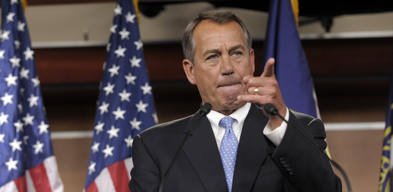 House Speaker John Boehner said the White House has wasted another week and has failed to respond to Monday's Republican offer to raise tax revenues and cut spending.