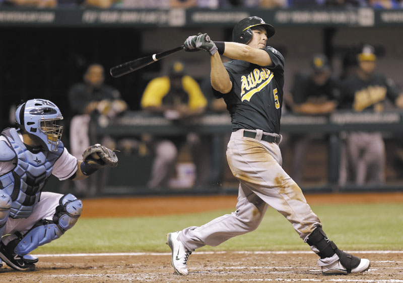 FOLLOWING BIG BRO: Stephen Drew, whose brother J.D. played five seasons with the Boston Red Sox, agreed to a one-year deal with Boston for $9.5 million.