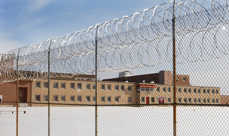 This file photo shows the security building at the Maine Correctional Center in Windham. Most of the Maine Correctional Center in Windham would be rebuilt if the LePage administration's proposed budget for the next two-year cycle – which asks for $100 million in bonding to pay for the project – goes through.