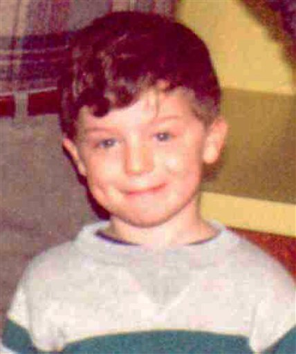 This photo provided by the Indiana State Police shows Richard Wayne Landers Jr., who authorities say was abducted from Indiana by his paternal grandparents in 1994 during custody proceedings.