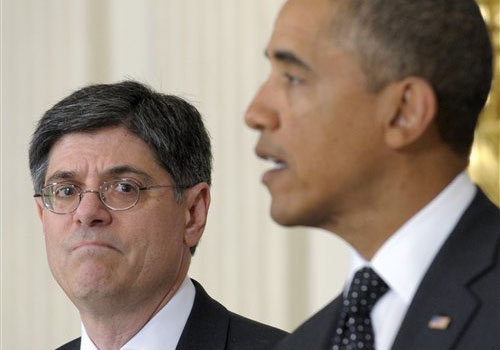 """Jack Lew, left, a pragmatic liberal, has been a key player in several negotiations between the White House and Capitol Hill, including the recent talks to avert the """"fiscal cliff."""""""