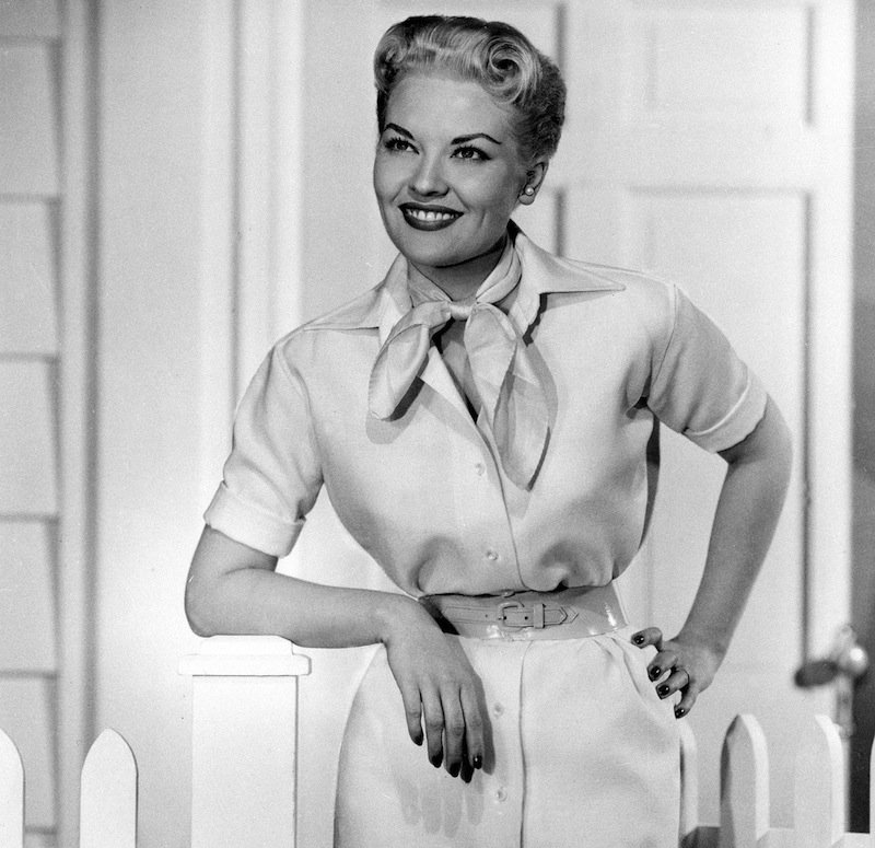 """This 1958 file photo shows singer Patti Page. Page, who made """"Tennessee Waltz"""" the third best-selling recording ever, has died. She was 85. Page died on New Year's Day in Encinitas, Calif., according to her manager. (AP Photo, file)"""
