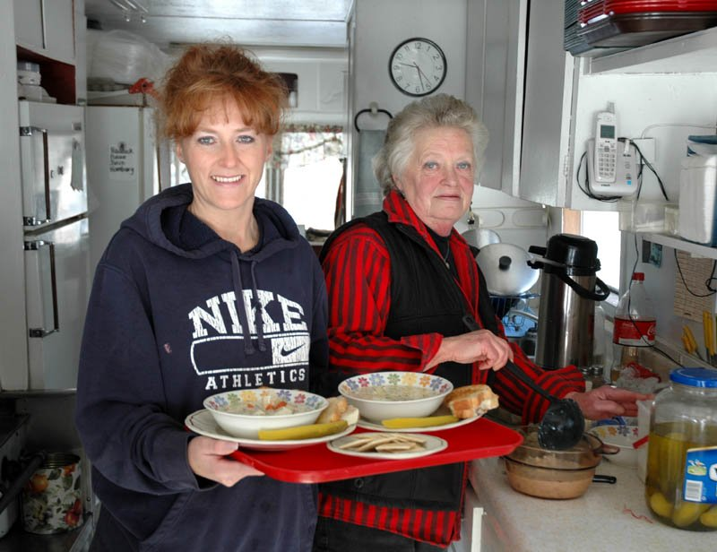 Joanne Goodridge and her daughter, Christy Morgan, have found enough success in their roadside lunch stand in tiny Brighton Plantation that they are now open year round. Poppa Jo's Homecook'n, on state Route 151, opened five years ago for summers only.