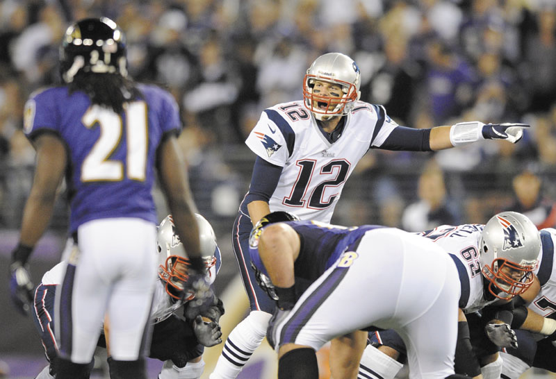 Quarterback Tom and the Patriots will play in the AFC Championship Game on Sunday, in competition with popular TV drama